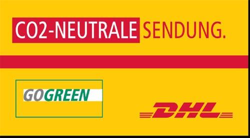 CO2-neutrale Sendung mit DHL