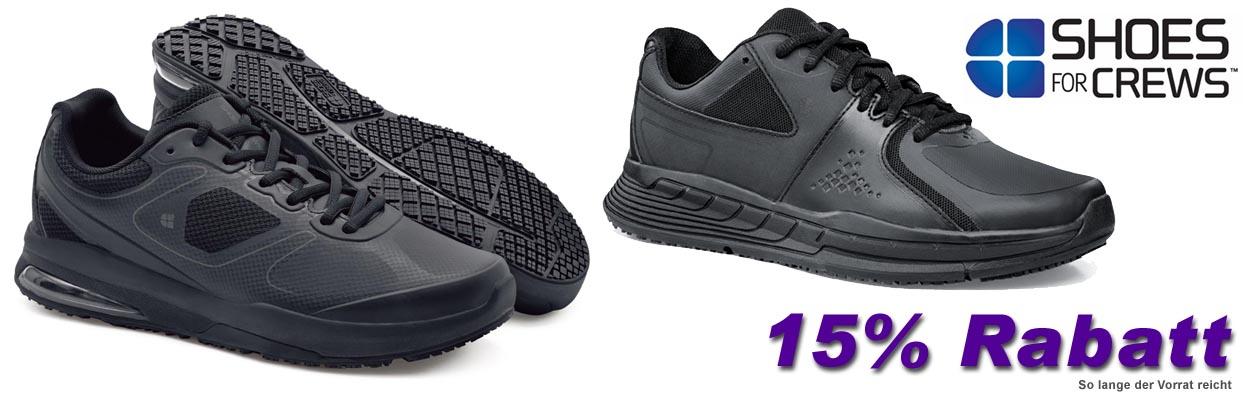 für kurze Zeit 15% Rabatt auf ausgewählte Shoes for Crews