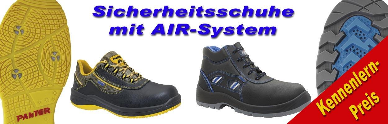 Oxigeno Arbeitsschuhe mit AIR-System --Jetzt zum Kennenlern-Preis--