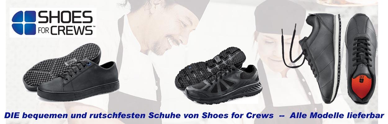 Rutschfeste Arbeitsschuhe von Shoes for Crews --  Für viele Berufe geeignet --