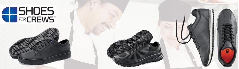 Shoes for Crews Arbeitsschuhe. Extrem rutschhemmend.
