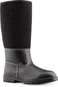 Filzstiefel URBERG, Winterstiefel, warme Füße mit Leder, Filz und Thermo-Fütterung in Größe 41, 45 + 46