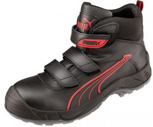 Puma Concord Mid Boots Sicherheitsschuhe schwarz S3, Klett
