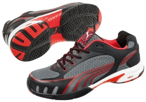 PUMA 642870, Fuse Motion red Low wns  Damen Arbeitsschuhe  S1