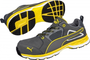 PUMA 643800, Arbeitsschuhe Motion Protect PACE 2.0 yellow low S1P ESD