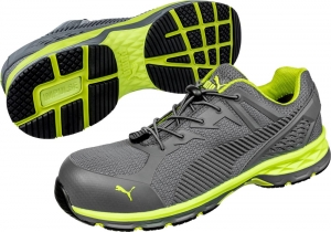 PUMA 643880, Arbeitsschuhe Motion Protect FUSE MOTION 2.0 green low S1P ESD
