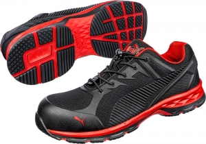 PUMA 643890, Arbeitsschuhe Motion Protect FUSE MOTION 2.0 red low S1P ESD
