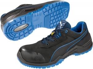 PUMA 644220, ARGON BLUE Low Sicherheitsschuhe Arbeitsschuhe S3 ESD