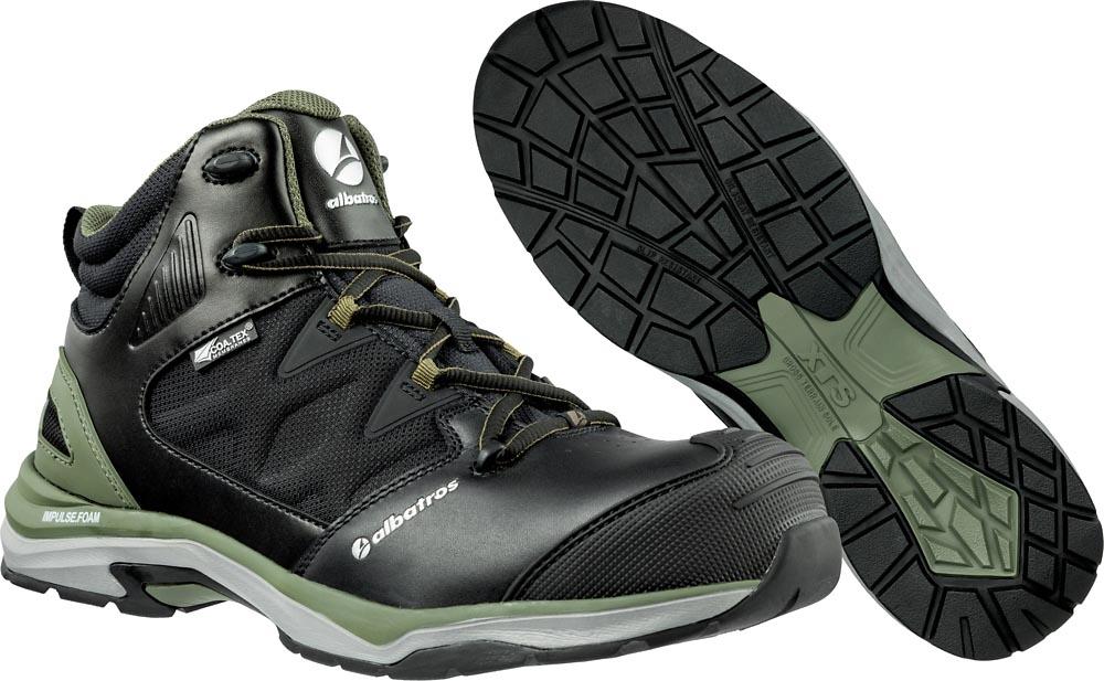 quality design acc6e cdd55 ALBATROS XTS Ultratrail olive 636220, Sicherheitsschuhe, S3, ESD