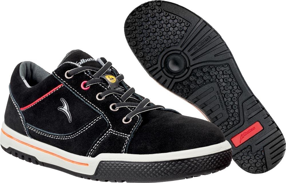 sports shoes 9278c b8ec4 ALBATROS Arbeitsschuhe Freestyle black 641960 Sicherheitsschuhe S1P, ES