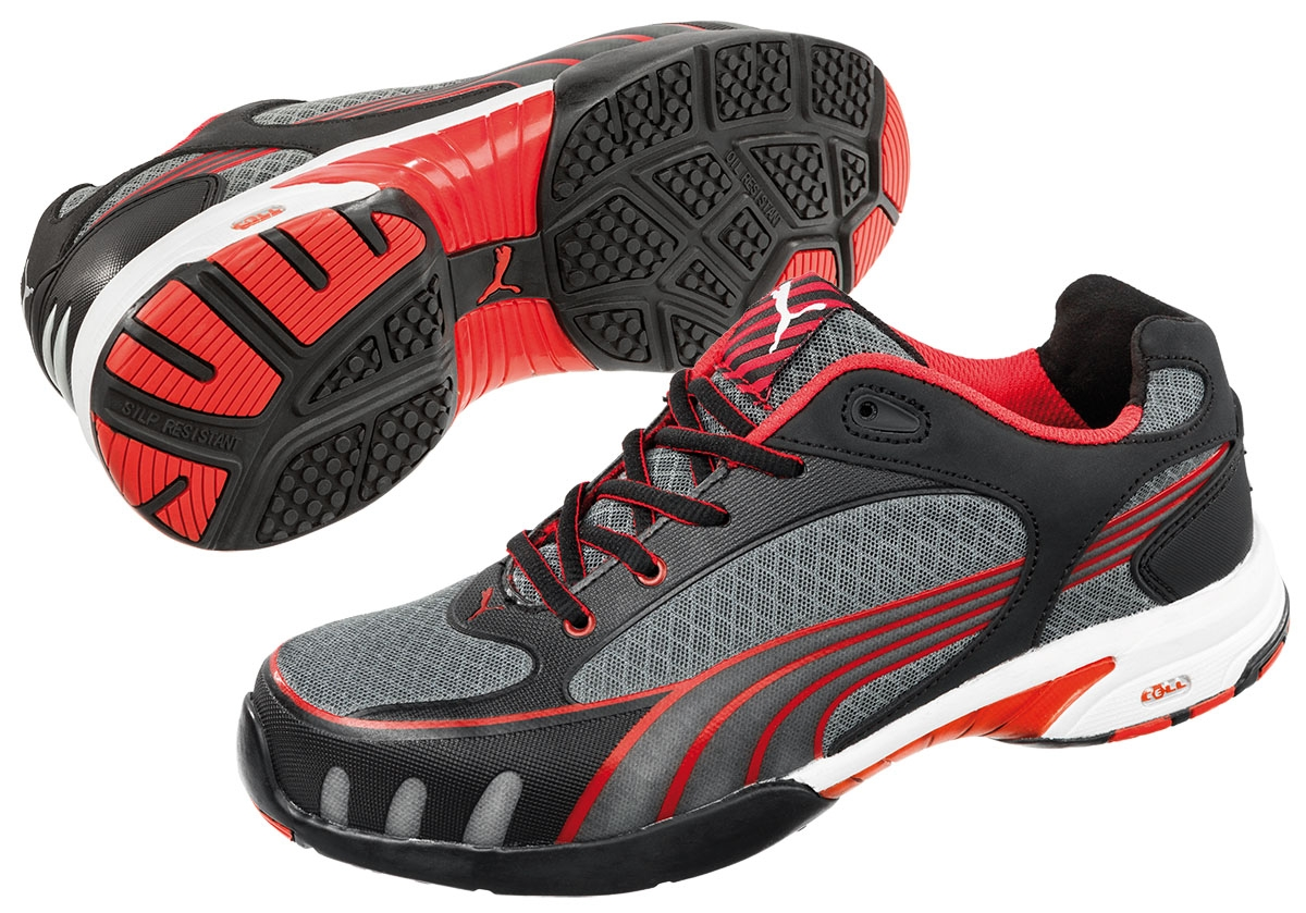 timeless design 9ac76 0fe84 PUMA 642870, Fuse Motion red Low wns Damen Arbeitsschuhe S1