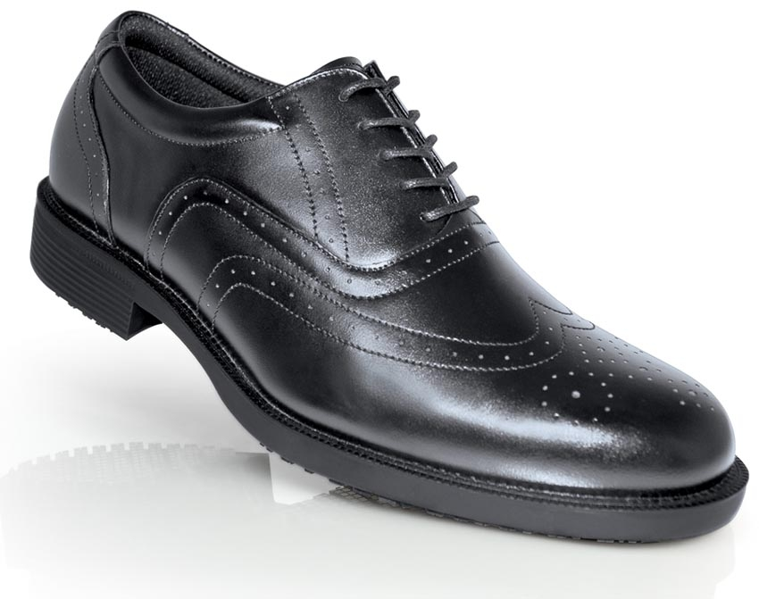 Shoes for Crews, SFC Arbeitsschuhe EXECUTIVE WING TIP mit Stahlkappe, S2 5218