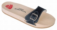 Berkemann Holzsandale 00100-900 Original-Sandale, schwarz