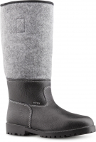 Filzstiefel URBERG, Winterstiefel, warme Füße mit Leder, Filz und Thermo-Fütterung Größe 47 + 48