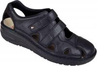 Berkemann BERKOFLEX Damen Sandale Sneaker LARENA, schwarz