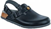 BIRKENSTOCK Professional 061400+ 061408 Clog Tokio ESD, schwarz Leder