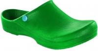 BIRKENSTOCK PU Clog Classic-Birki Antistatik 067050, grün -SONDERPREIS- Gr.36