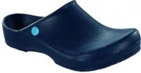 BIRKENSTOCK PU Clog Klassik-Birki Antistatik 067070, blau -SONDERPREIS- Gr.44