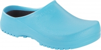 BIRKENSTOCK 068501, PU-Clogs Super Birki ciel light blue