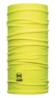 Original BUFF Halstuch DryCool, Multifunktionstuch mit Coolmax, gelb fluor