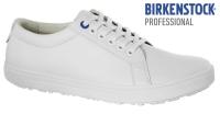BIRKENSTOCK 1011248 weiße Arbeitsschuhe QO500 OHNE Stahlkappe, rutschfeste Sohle SRC