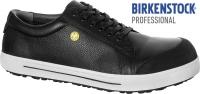 BIRKENSTOCK 1011363 ESD Arbeitsschuhe MIT Stahlkappe QS500 SRC S3, Leder schwarz