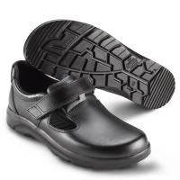SIKA Arbeitsschuhe Optimax 173110, Sandale mit Klett, DGUV Größe 40 --SONDERPREIS--