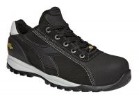 UTILITY Diadora 173528, Glove Tech low PRO, Arbeitsschuhe mit GEOX-System Schutzklasse S3, Leder schwarz