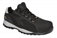 UTILITY Diadora 173657, Glove Tech low PRO, Arbeitsschuhe mit GEOX-System Schutzklasse S1P, Leder schwarz