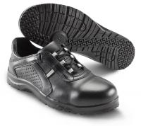 SIKA Premium-Arbeitsschuhe Fusion 19221, Halbschuhe mit ALU-Kappe SRC, Leder perforiert schwarz