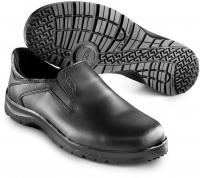SIKA Premium-Arbeitsschuhe Fusion 19514, Slipper ohne Stahlkappe SRC, Leder schwarz