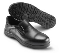 SIKA Premium-Arbeitsschuhe Fusion 19224, Slipper mit ALU-kappe SRC, Leder schwarz