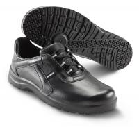 SIKA Premium-Arbeitsschuhe Fusion 19513, Halbschuhe ohne Stahlkappe SRC, Leder schwarz