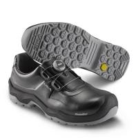SIKA 202220 Primo, Komfort-Sicherheitsschuhe S2, Rutschhemmung SRC, BOA Fit System, Permair-Leder schwarz