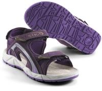 SIKA Damen-Funktions-Sandale für Beruf und Freizeit. 3x Klett