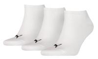 PUMA Socken Sneaker = Füßlinge, weiß, 3er-Pack