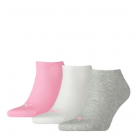 PUMA Socken Unisex Sneaker Plain, prism pink, 3er-Pack