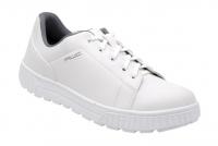 AWC ECO WORK 26350, Arbeitsschuhe SRC-Sneaker TOP Rutschhemmung, MIT Stahlkappe, weiß -- Einzelpaare zum Sonderpreis Größe 36+37+38