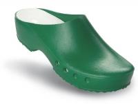 Schürr OP-Clogs Chiroclogs Classic grün ohne Fersenriemen
