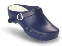 Schürr OP-Clogs Chiroclogs Classic blau mit Fersenriemen