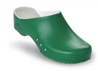 Schürr OP-Clogs Chiroclogs Professional grün ohne Fersenriemen