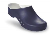 Schürr OP-Clogs Chiroclogs Professional blau ohne Fersenriemen, Gr. 42  --SONDERPREIS--