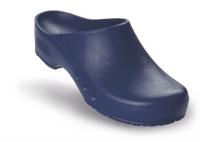 Schürr OP-Clogs Chiroclogs Spezial blau ohne Fersenriemen
