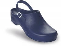 Schürr OP-Clogs Chiroclogs Spezial blau mit Fersenriemen