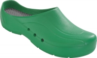 Schürr OP-Clogs Chiroclogs Orthoclogs grün ohne Riemen, Gr. 37  --SONDERPREIS--