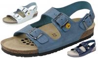 Weeger Arbeitsschuhe, ESD-Sandale mit Luftpolster-Fußbett