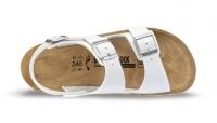 BIRKENSTOCK Professional 500761 + 500763, Modell Kano mit Weichbettung Soft Footbed, Birkoflor weiß