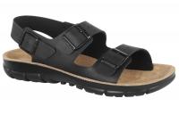BIRKENSTOCK Pantolette 500781, Modell Kano mit Weichbettung Soft Footbed, Birkoflor schwarz