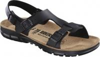 BIRKENSTOCK Professional 500863, Damen-Modell Saragossa mit Weichbettung Soft Footbed, Birkoflor schwarz