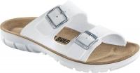 BIRKENSTOCK Professional 520781 + 520783, Modell Bilbao mit Weichbettung Soft Footbed, Birkoflor weiß